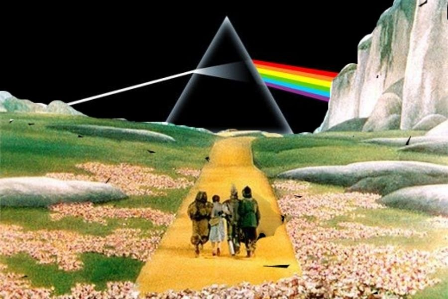 Pink Floyd meets 'The Wizard of Oz' in an absurdly perfect way