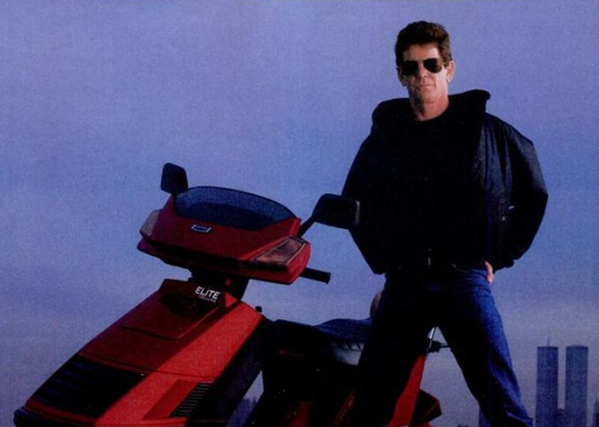 Revisit Lou Reed S Advert For Honda Scooters From The 1980s