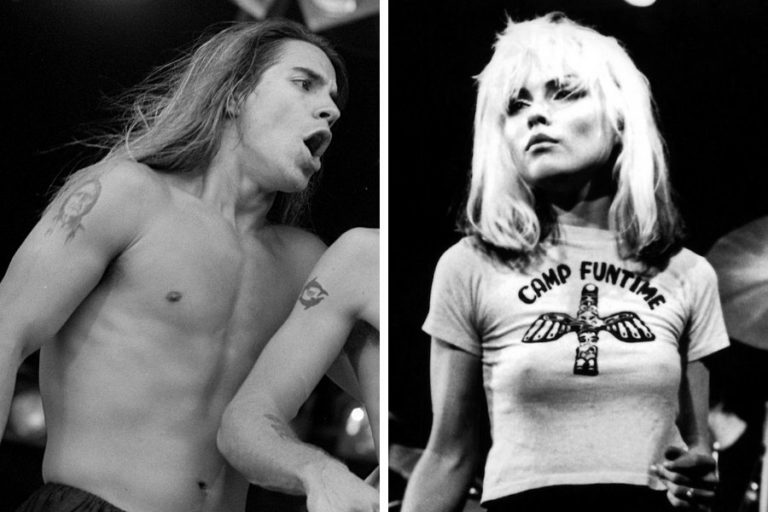 An adolescent Anthony Kiedis once proposed to Blondie's Debbie Harry