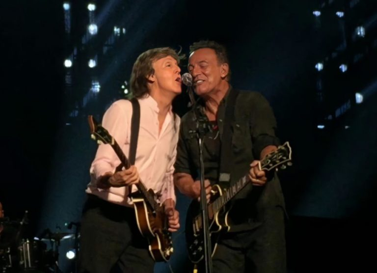 Paul McCartney and Bruce Springsteen cover The Beatles