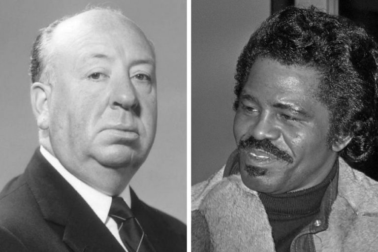 The surreal moment James Brown met Alfred Hitchcock