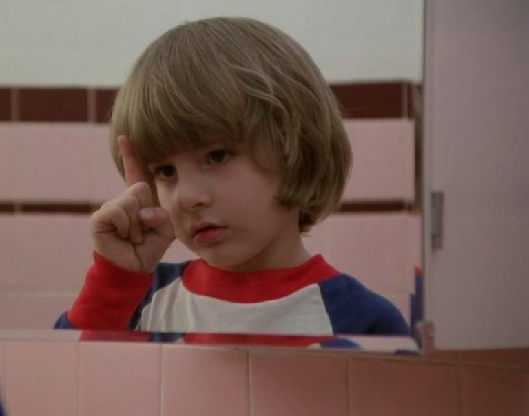 How Danny Lloyd's improvisation was added to 'The Shining'