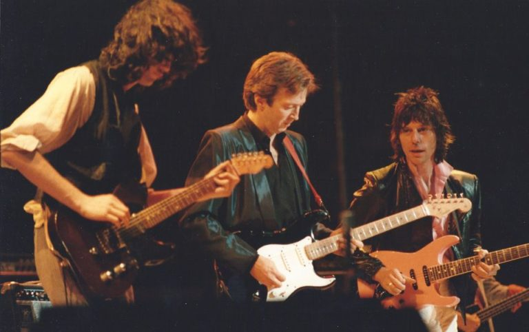 Watch Jimmy Page, Eric Clapton, Jeff Beck and Joe Cocker cover The Beatles back in 1983