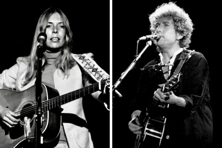 The song Joni Mitchell wrote about the 'miserly' figure of Bob Dylan