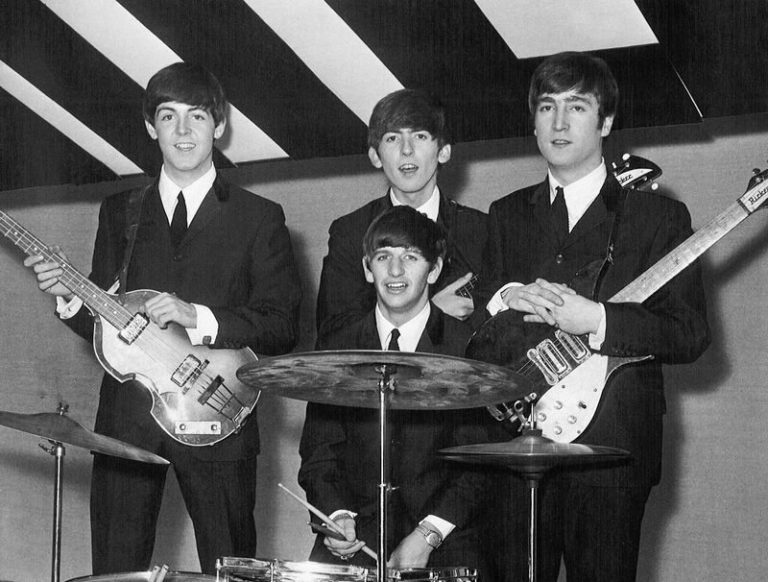 Watch The Beatles perform 'She Loves You' on Swedish TV way back in 1963