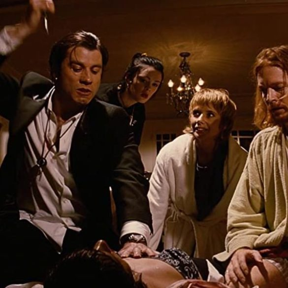 The innovative way Quentin Tarantino filmed crucial Pulp Fiction 'overdose' scene