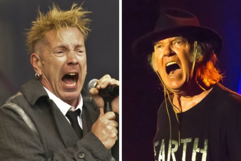 The song that Neil Young wrote about Johnny Rotten
