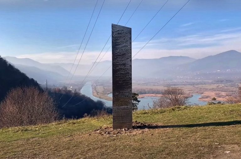 Bizarre missing '2001 - A Space Odyssey' monolith discovered in Romania