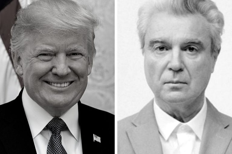 """David Byrne """"surprised"""" by how many people still support Donald Trump"""