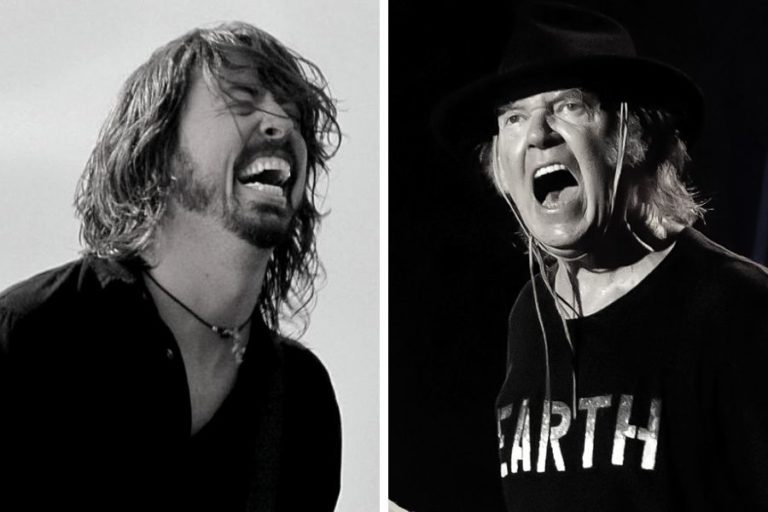 Why Foo Fighters frontman Dave Grohl loves Neil Young