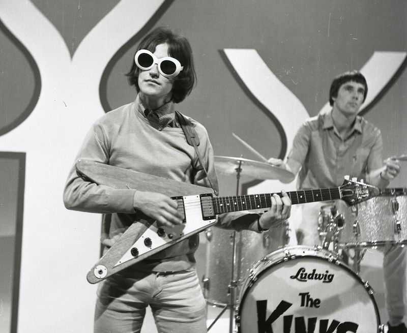 When The Kinks' Dave Davies was knocked out by a bandmate