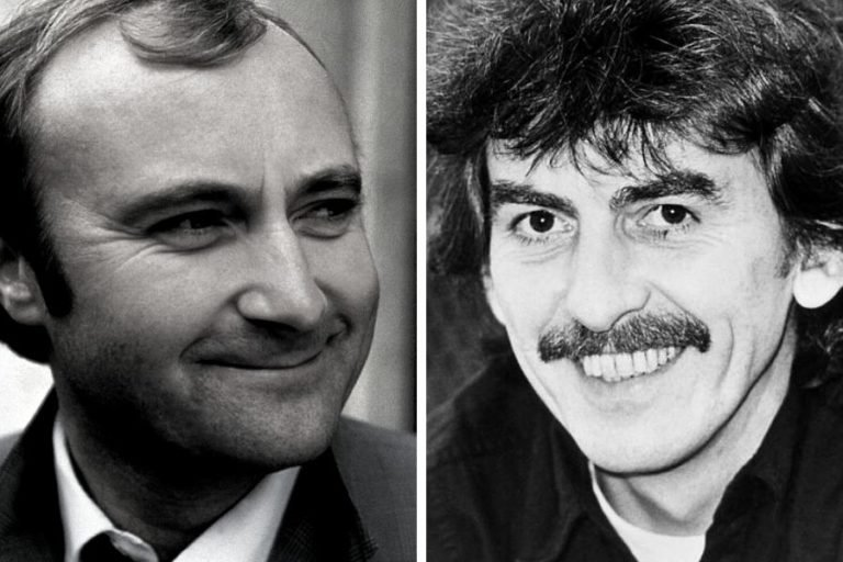 The hilarious prank George Harrison pulled on Phil Collins