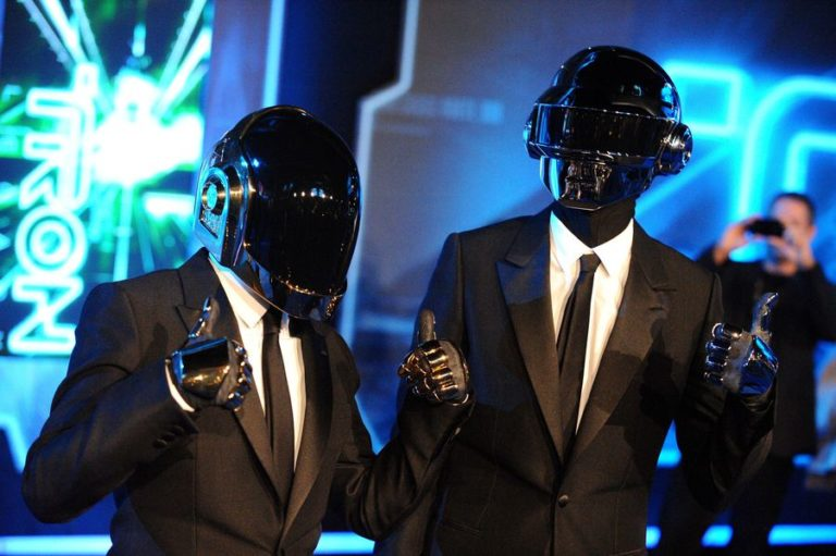 The reason why Daft Punk wore helmets