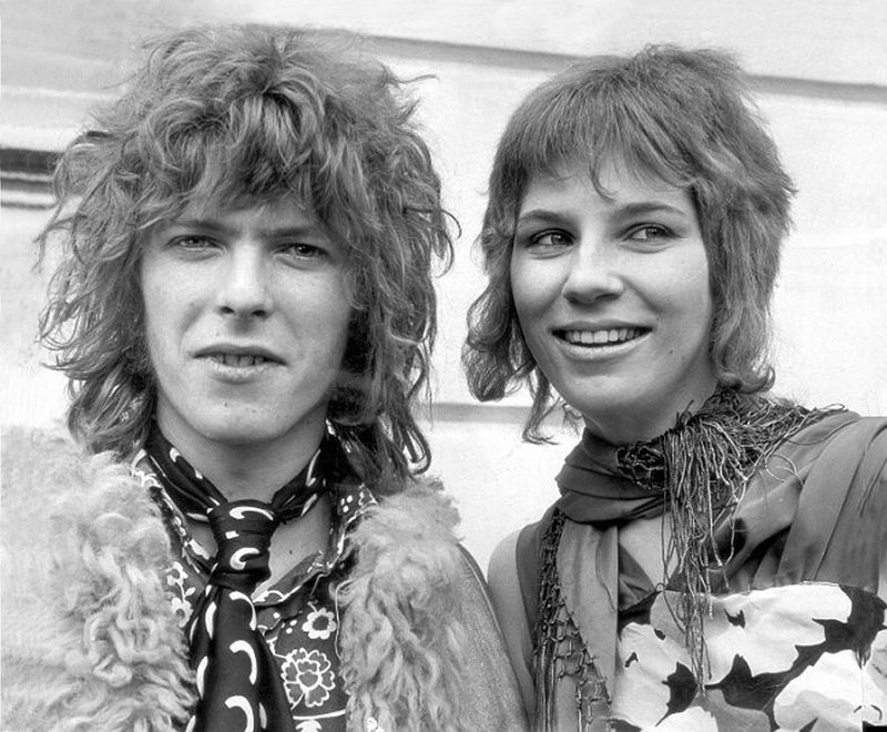 David Bowie and Angie